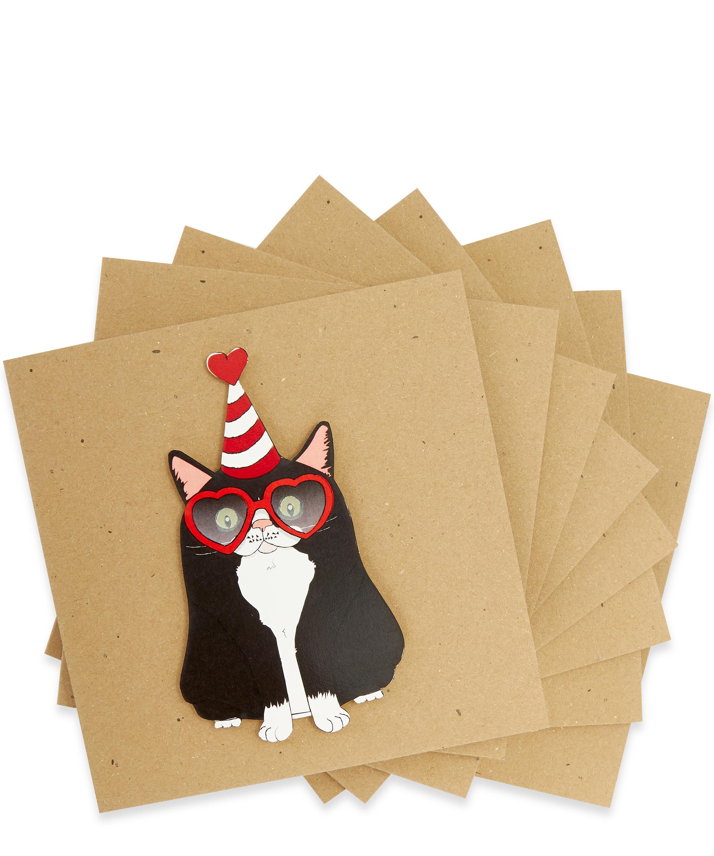 Cat In A Hat Birthday Card Bundle