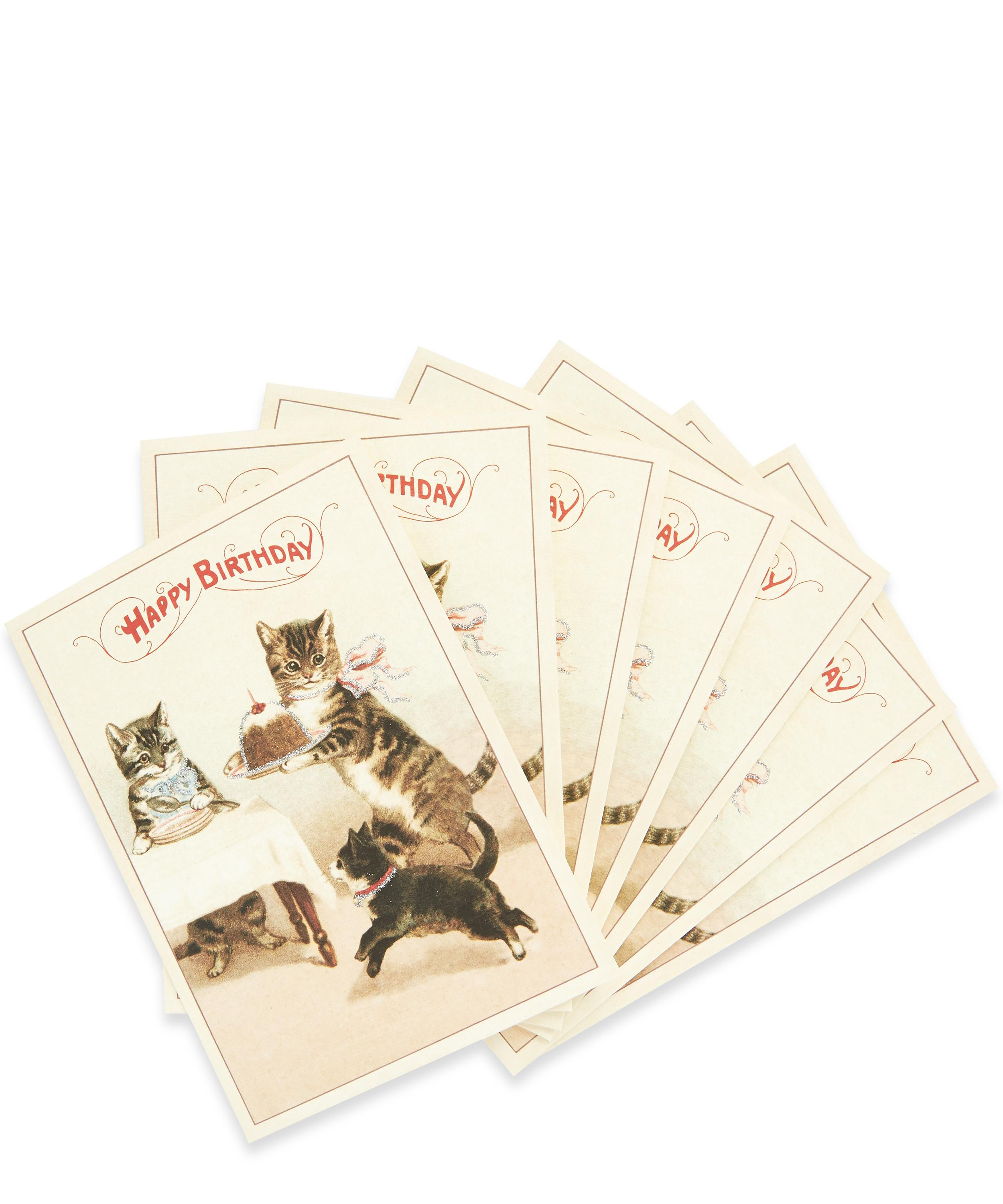 Happy Birthday Cats Card Bundle