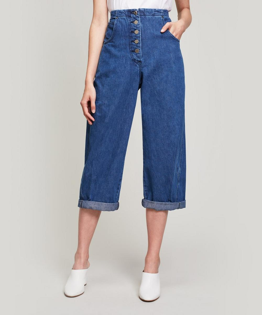 Rachel Comey ELKIN COTTON-TWILL CHINO TROUSERS