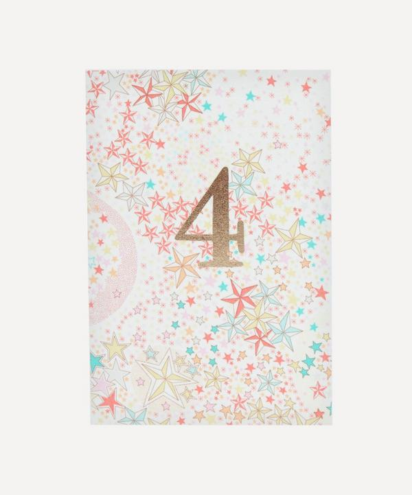 Esmie - Adelajda Liberty Print 4 Birthday Card