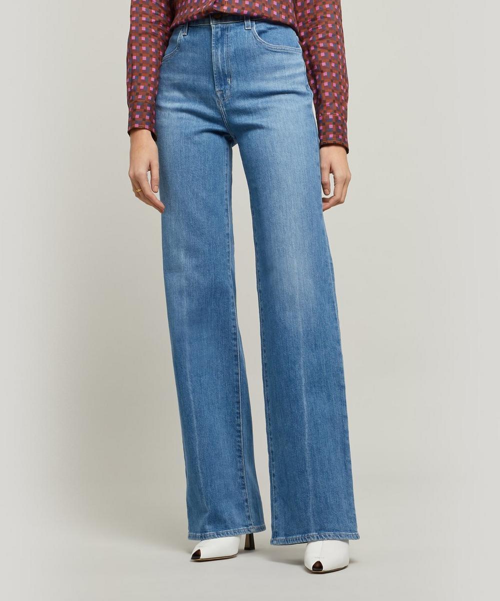 Joan High-Rise Wide Leg Jeans