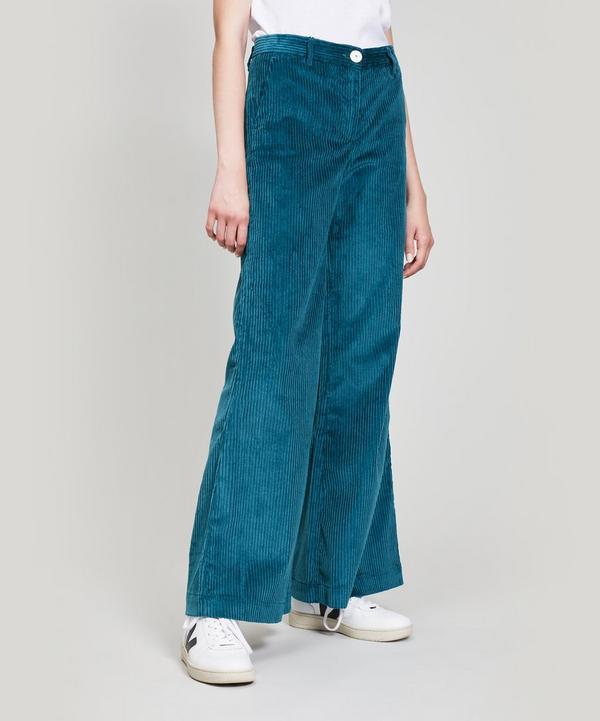 Teo Wide Leg Corduroy Trousers ... 54df8151e