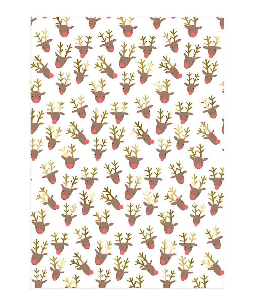 Reindeer Wrapping Paper 3m