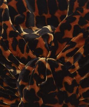 Gloria Velvet Leopard Turban