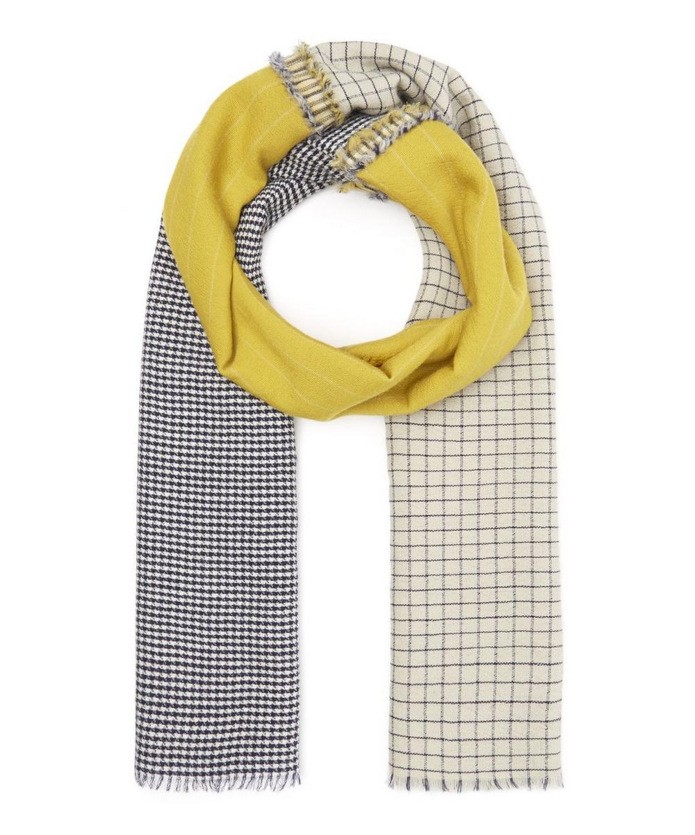INOUITOOSH Dundee Wool Scarf in Yellow