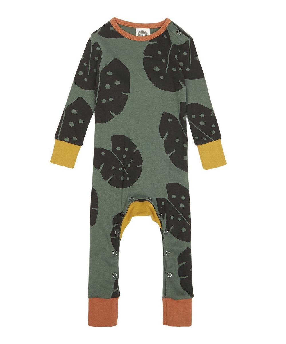 Monstera Forest Monty Baby Sleepsuit 0-18 Months