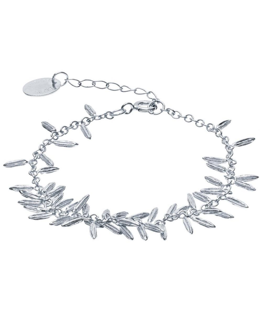 ALEX MONROE Silver Fennel Kissing Seed Bracelet