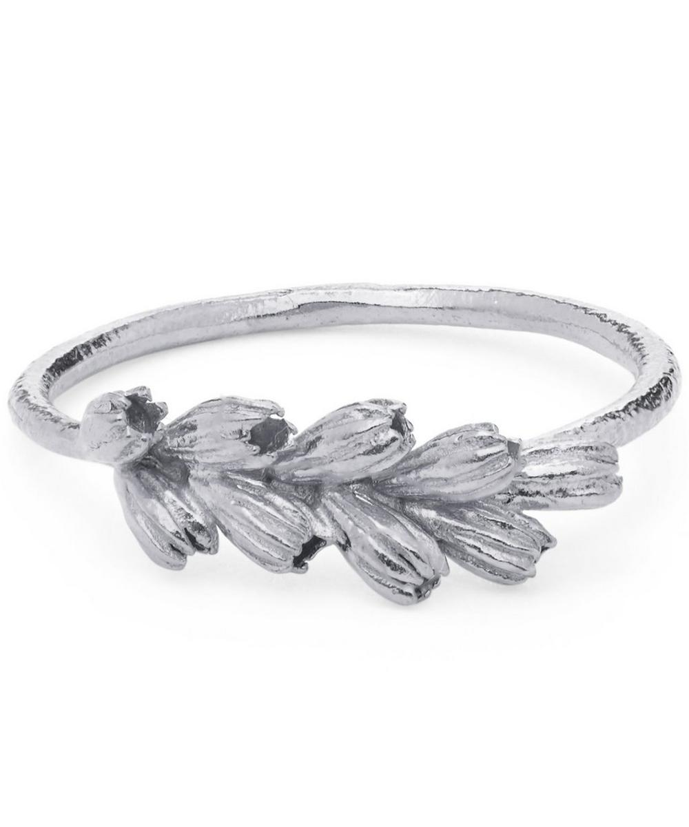 ALEX MONROE SILVER CLUSTERED SEED POD RING