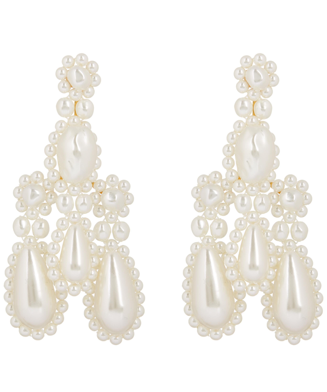 0dddc849a Faux Pearl Chandelier Earrings Liberty London