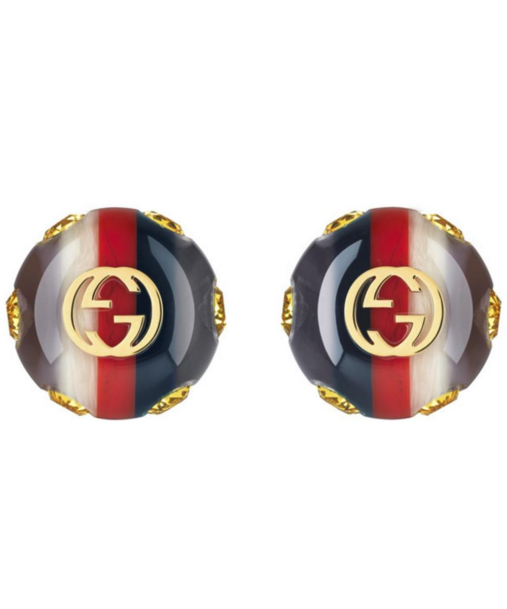 Vintage Sylvie Web Stud Earrings