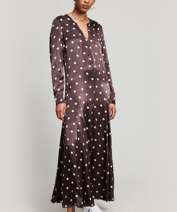 Cameron Polka Dot Maxi Dress