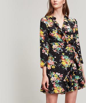 Gemma Silk Wrap-Dress