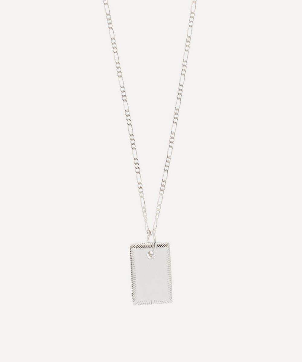 Silver Eliza Pendant Necklace