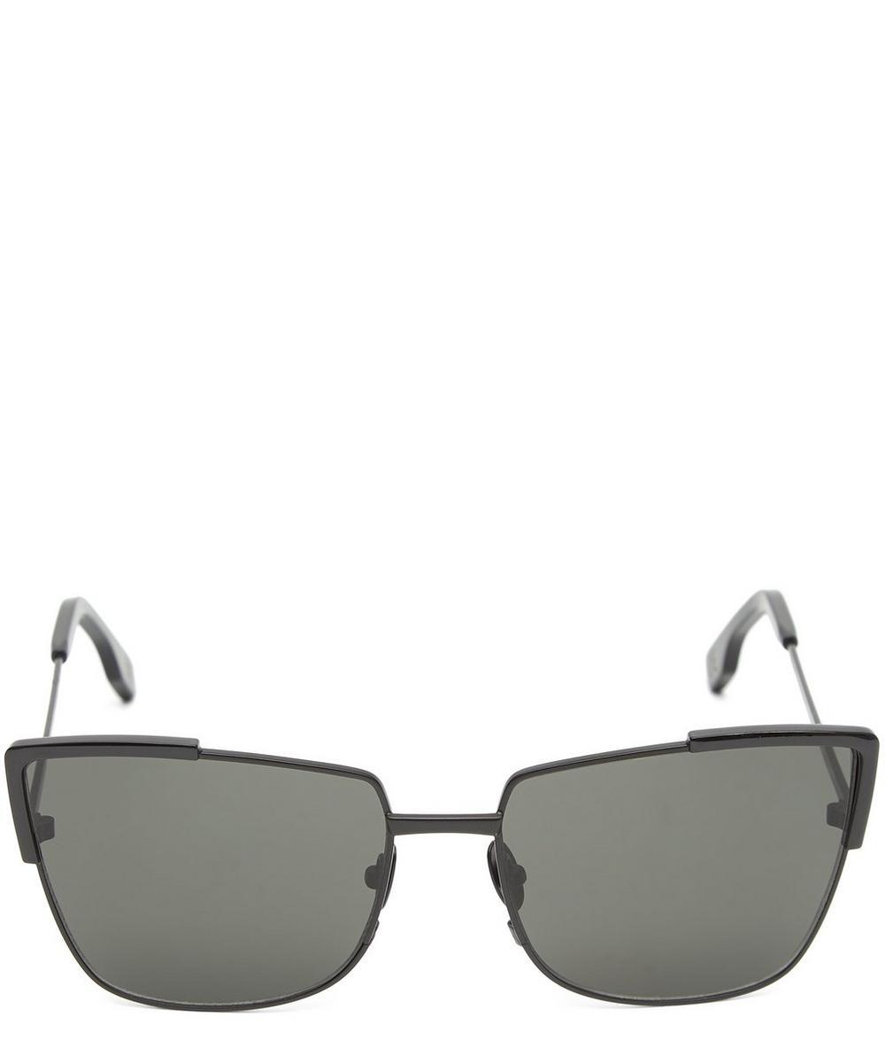 ZANZAN Totto Metal Sunglasses in Black