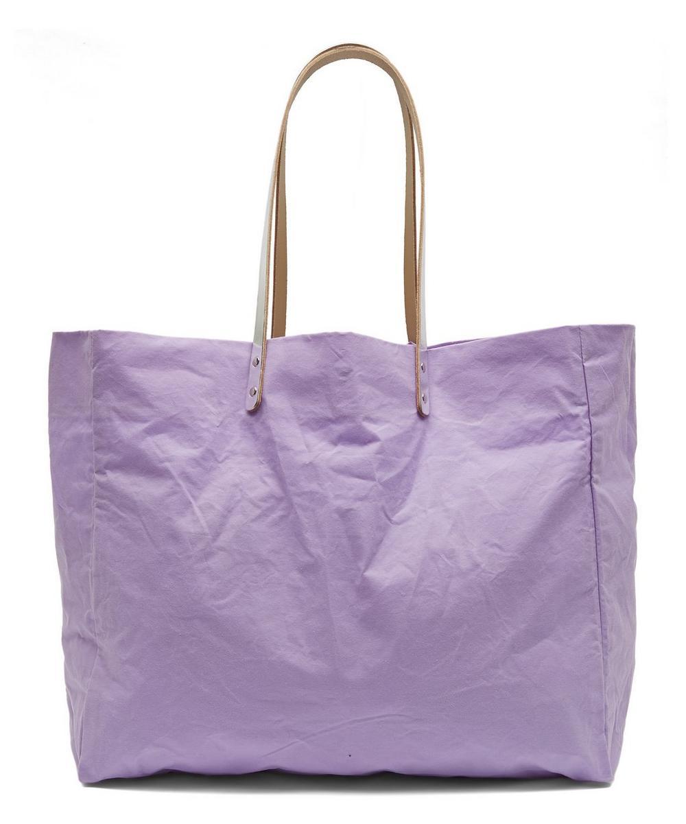 Giga Waxed Cotton Tote Bag
