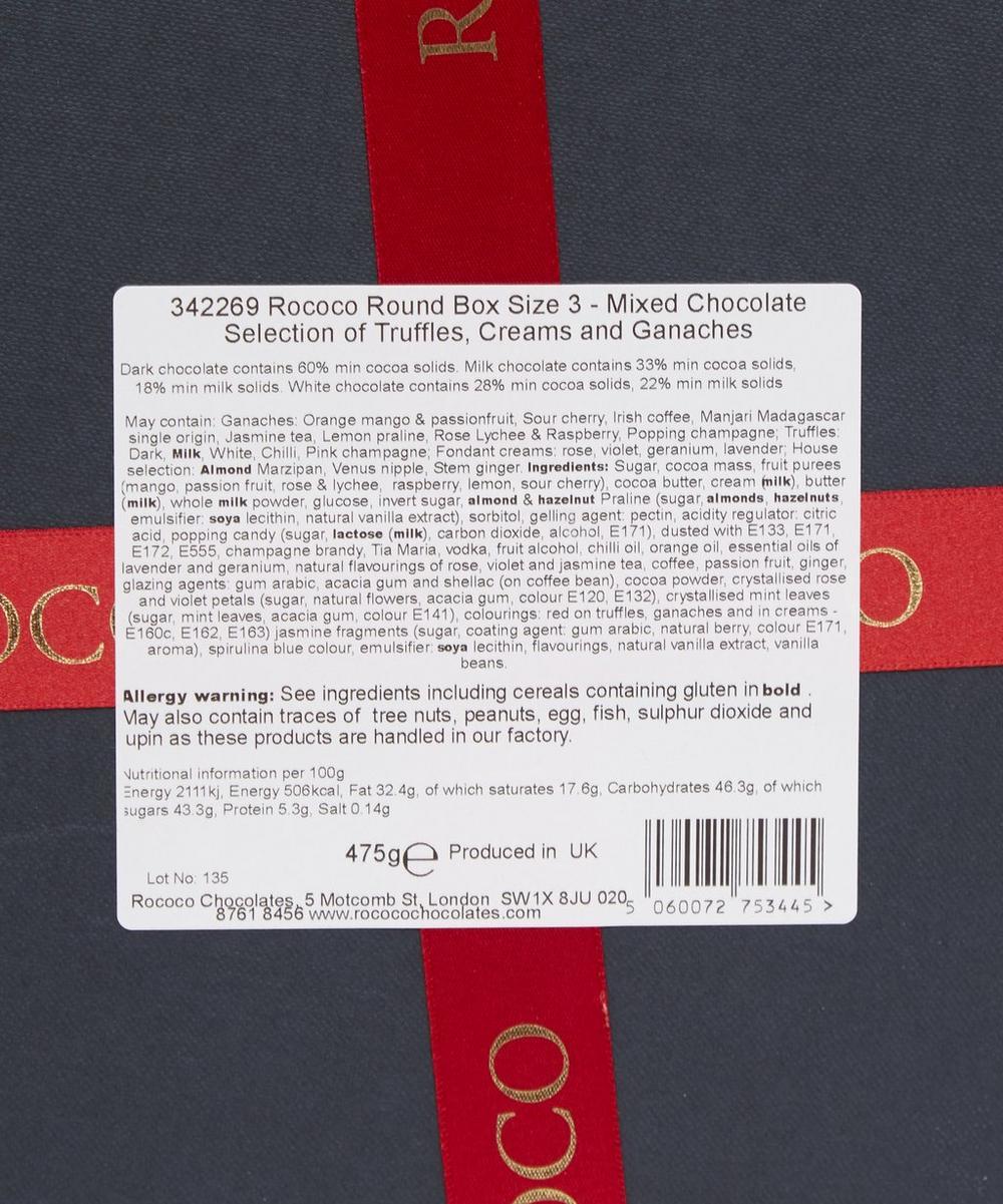 Round Box No. 3 Mixed Selection