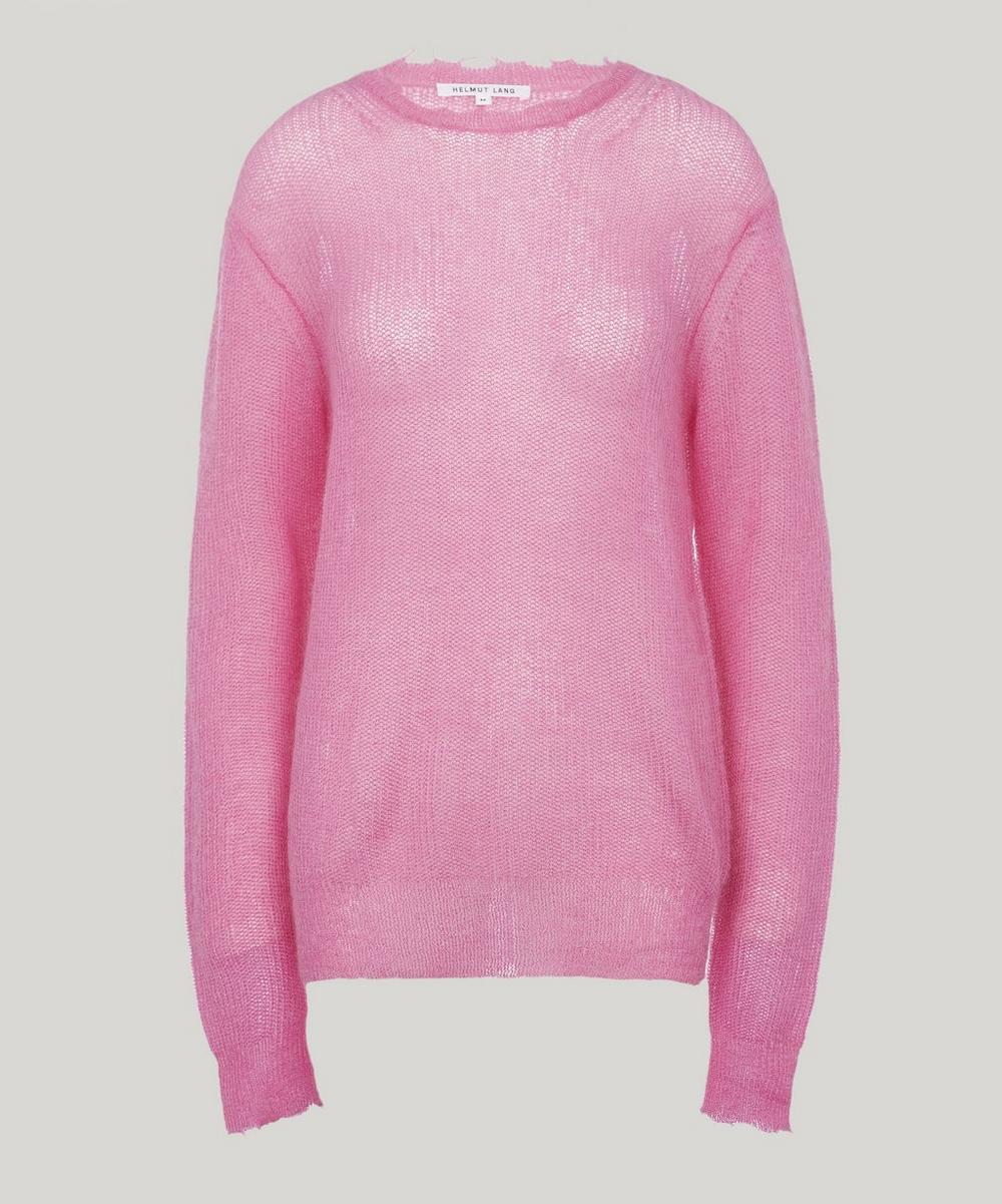 Fluffy Wool-Blend Sweater