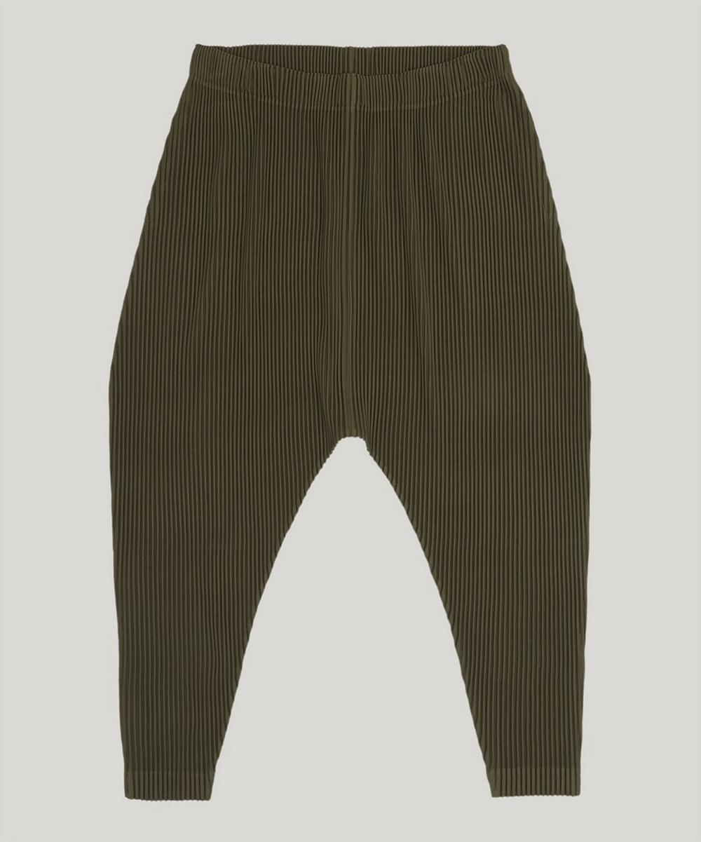 Pleats Please Issey Miyake DROP CROTCH TROUSERS