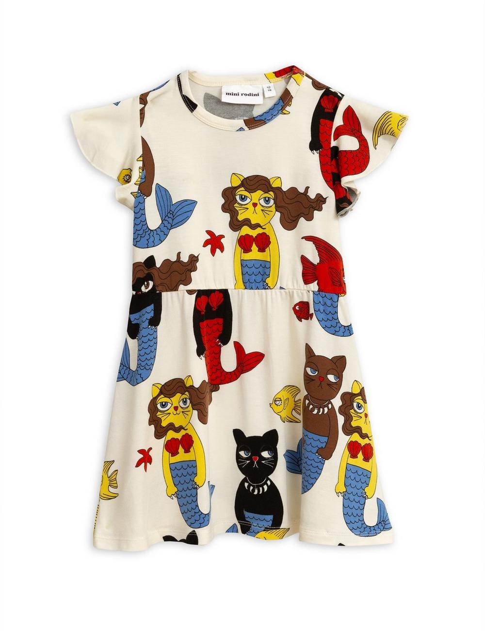 Cat Mermaid Dress 2-6 Years