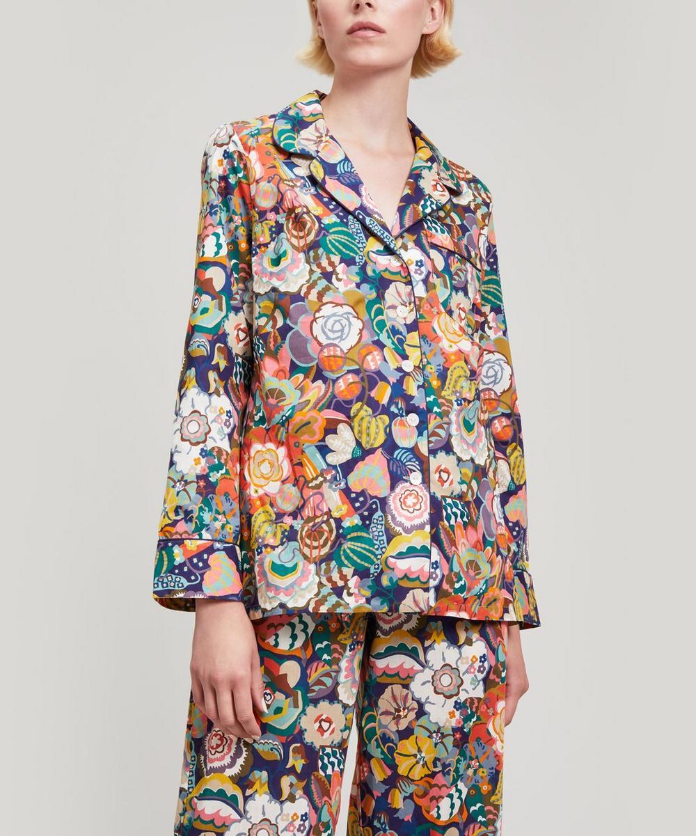 Gatsby Garden Tana Lawn Cotton Long Pyjama Set