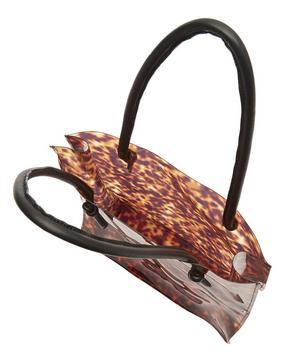 Anaise Tortoise PVC Tote Bag