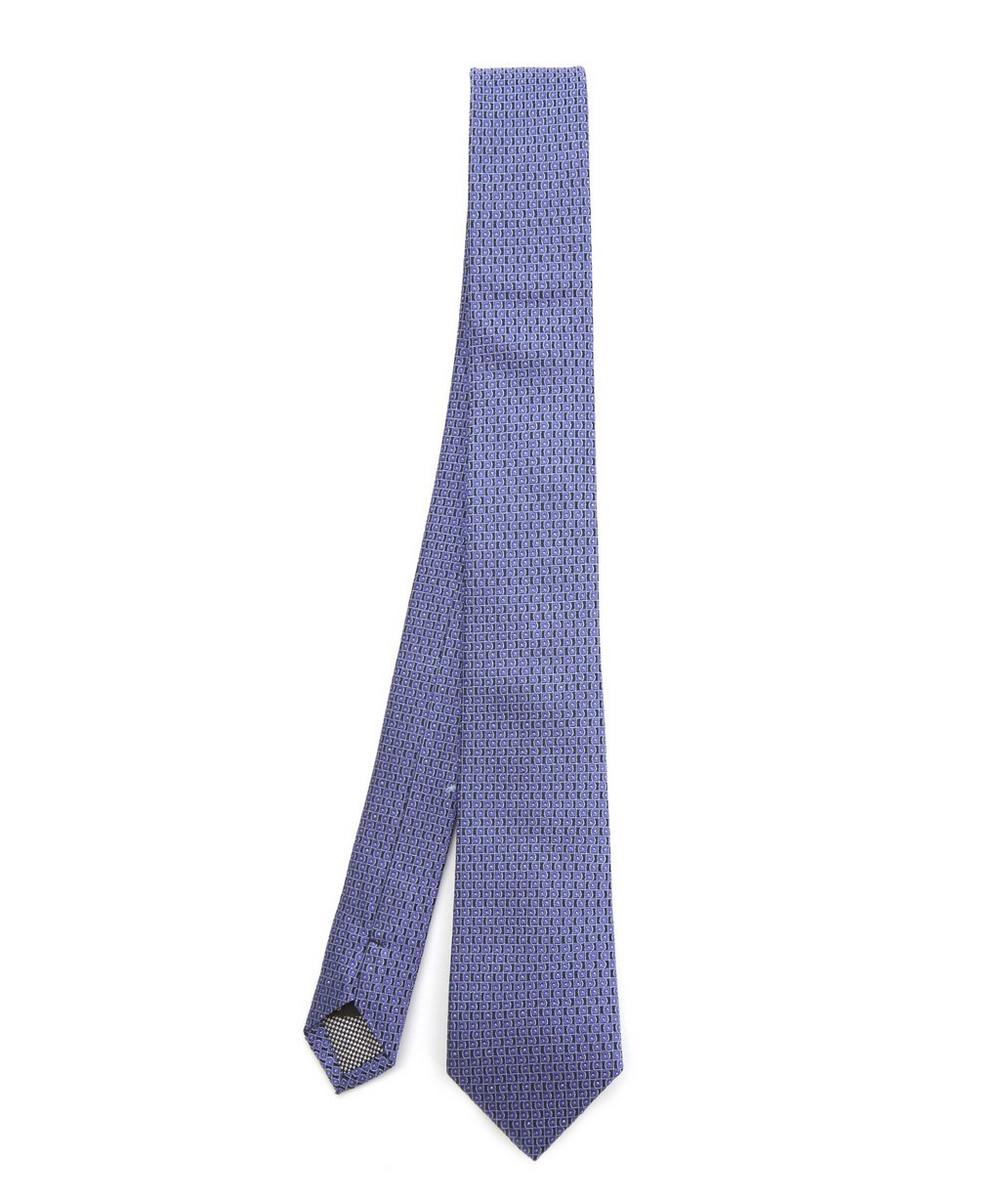 SIMON CARTER WEST END SQUIGGLE SILK TIE