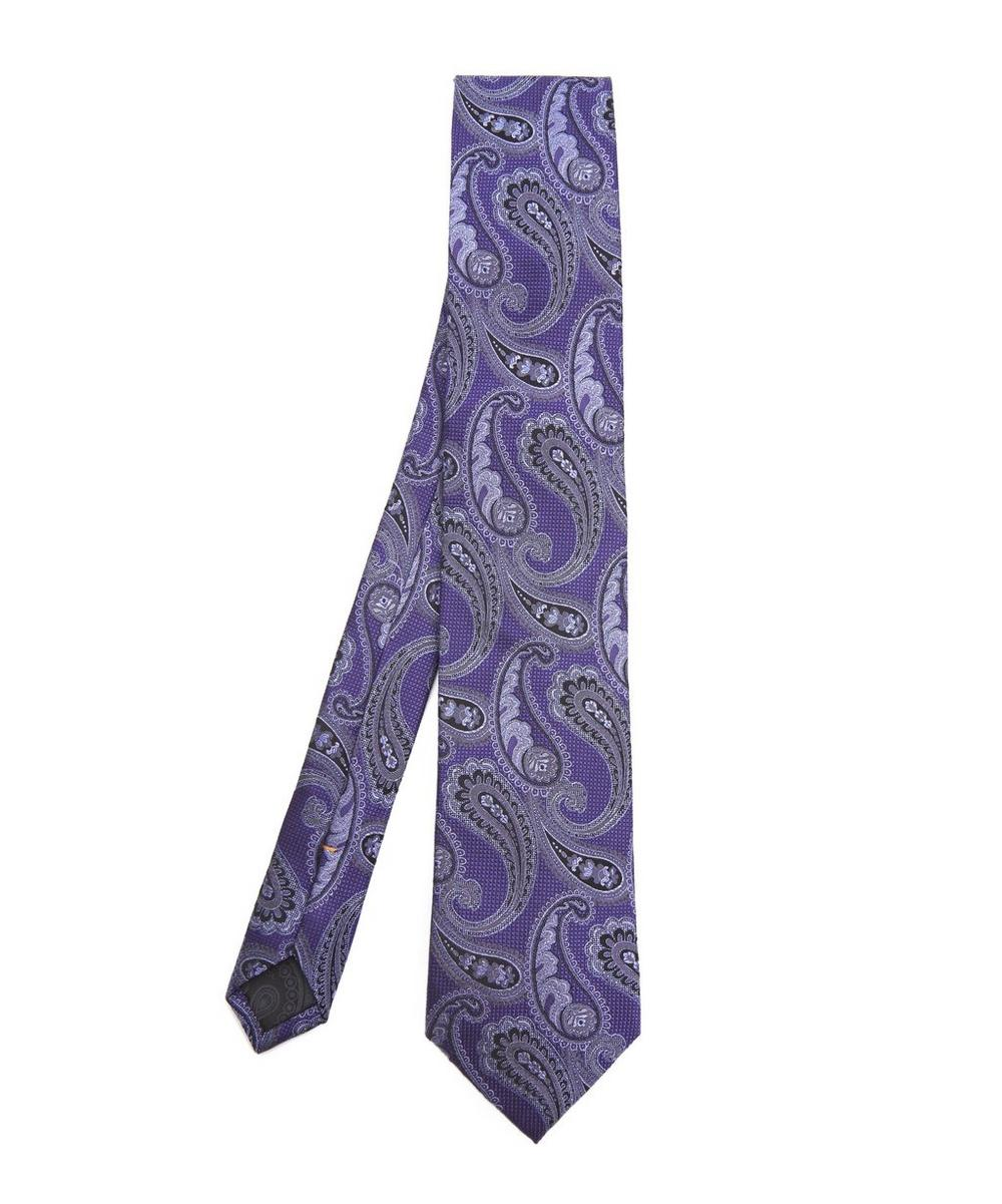 SIMON CARTER WEST END VINTAGE PAISLEY SILK TIE