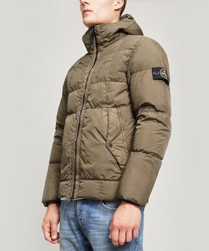 Crinkle Reps NY Down Hooded Short Coat