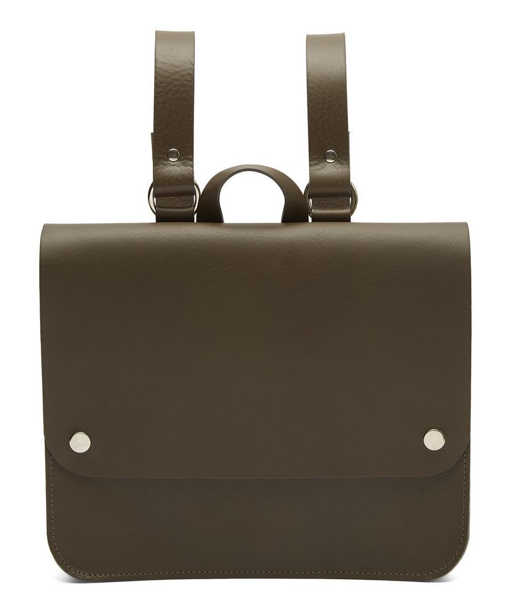 Pop Medium Leather Rucksack