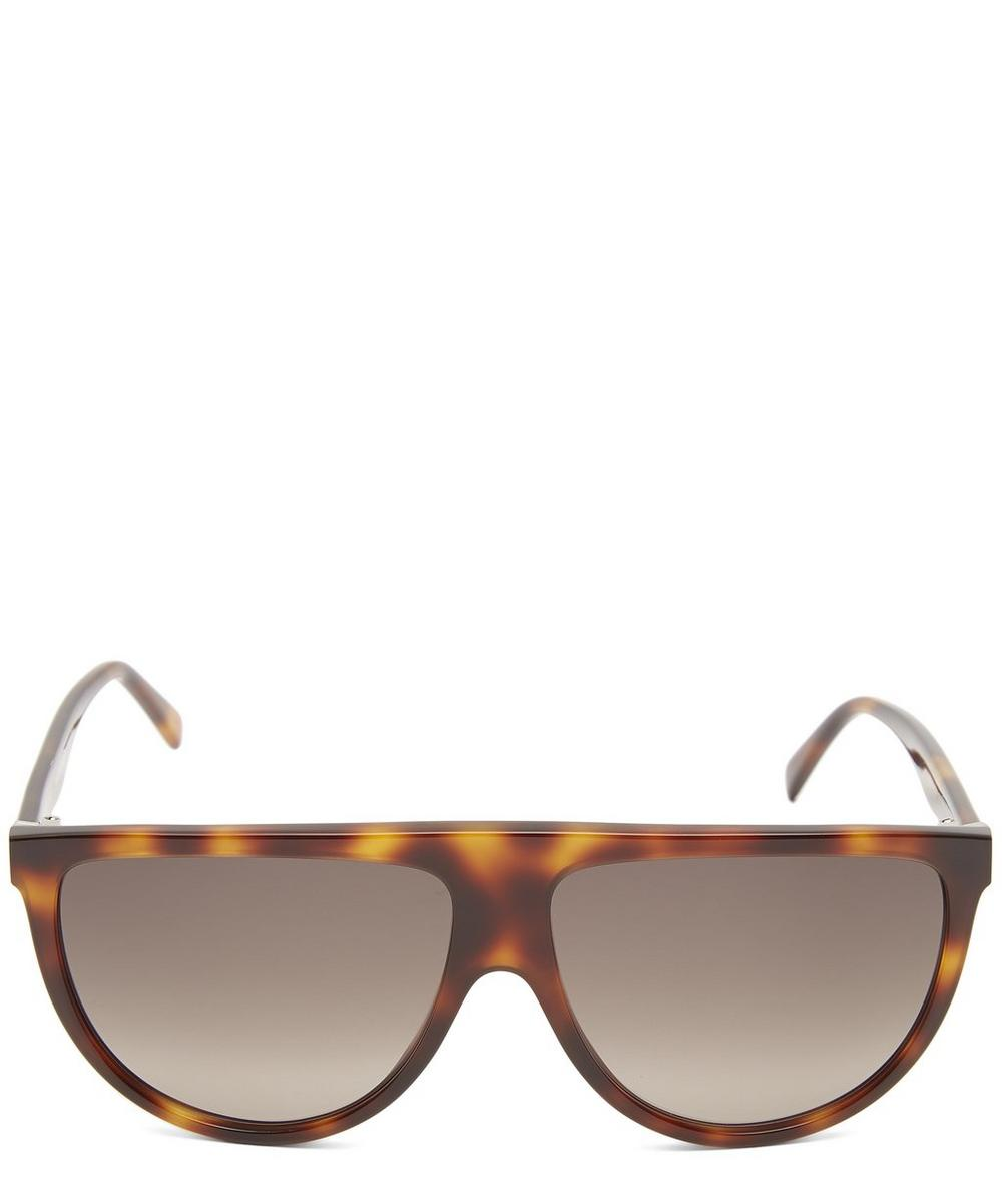 Flat Top Shadow Acetate Sunglasses