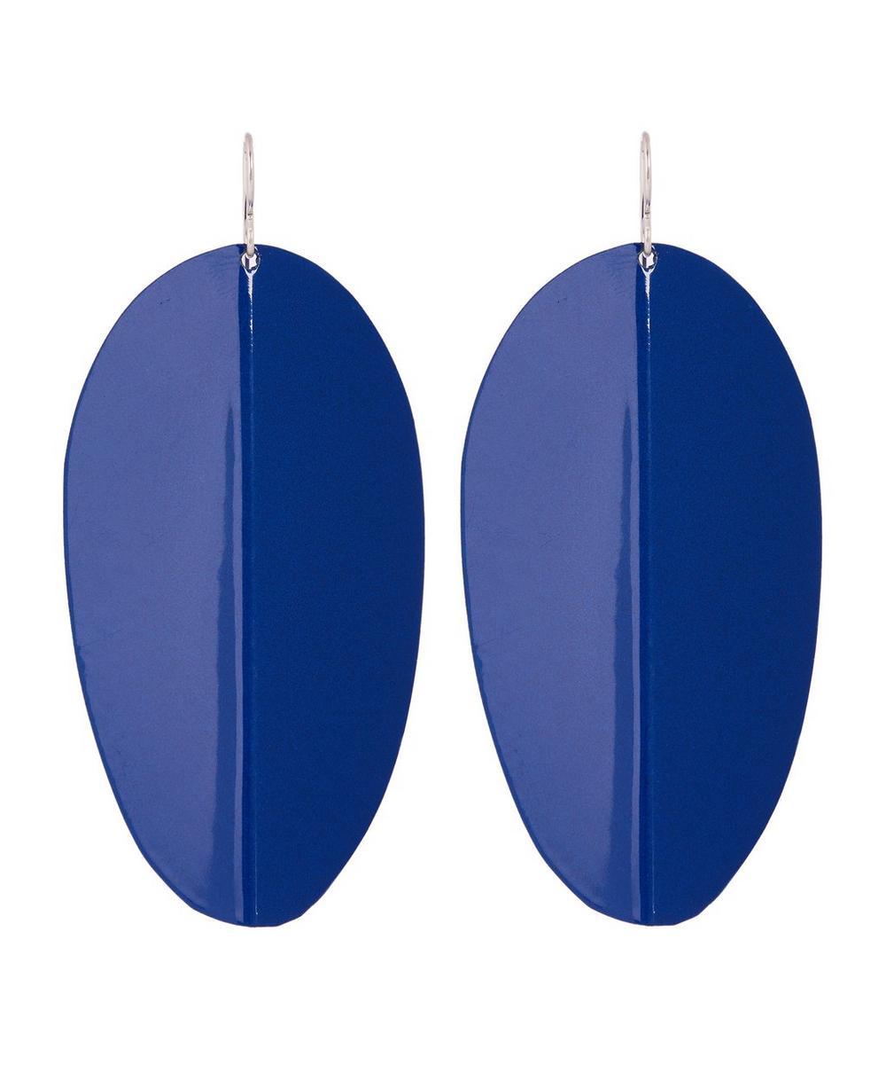 Wide Pedal Earrings