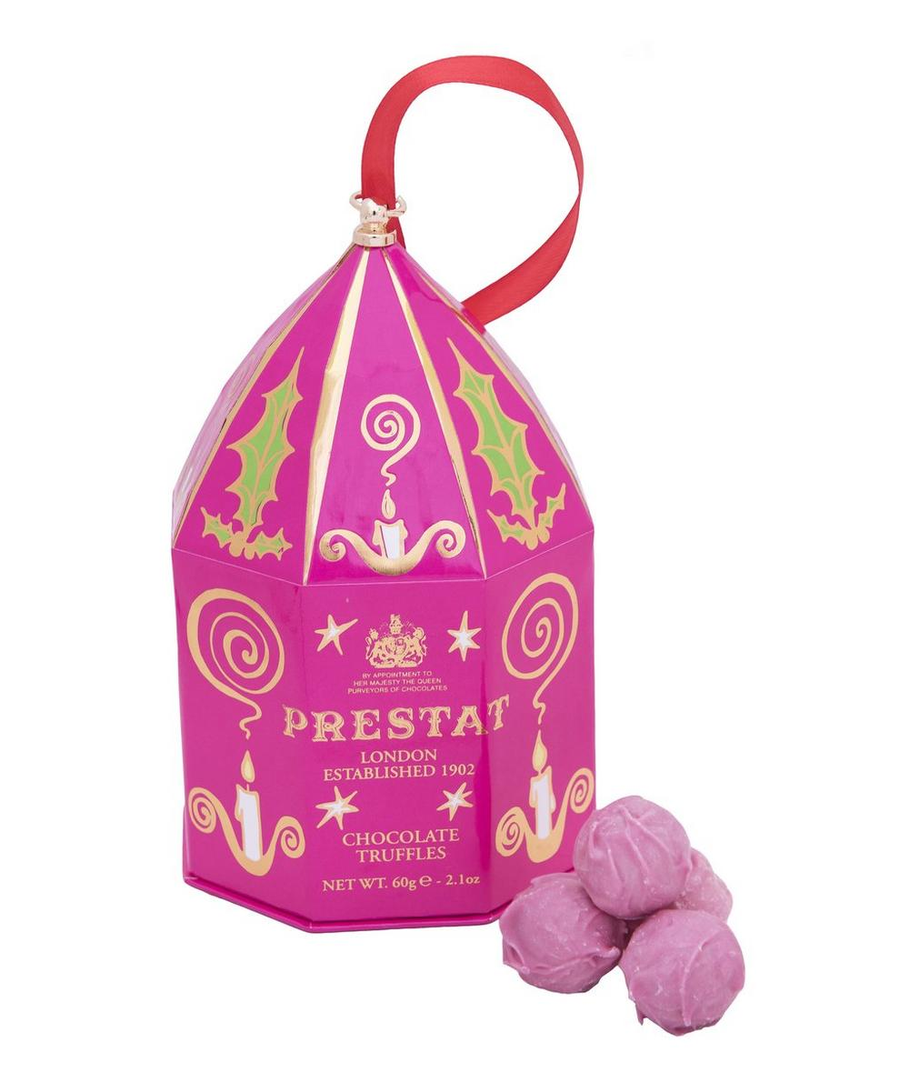Pink Popping Prosecco Mini Chocolate Truffles Bauble 60g