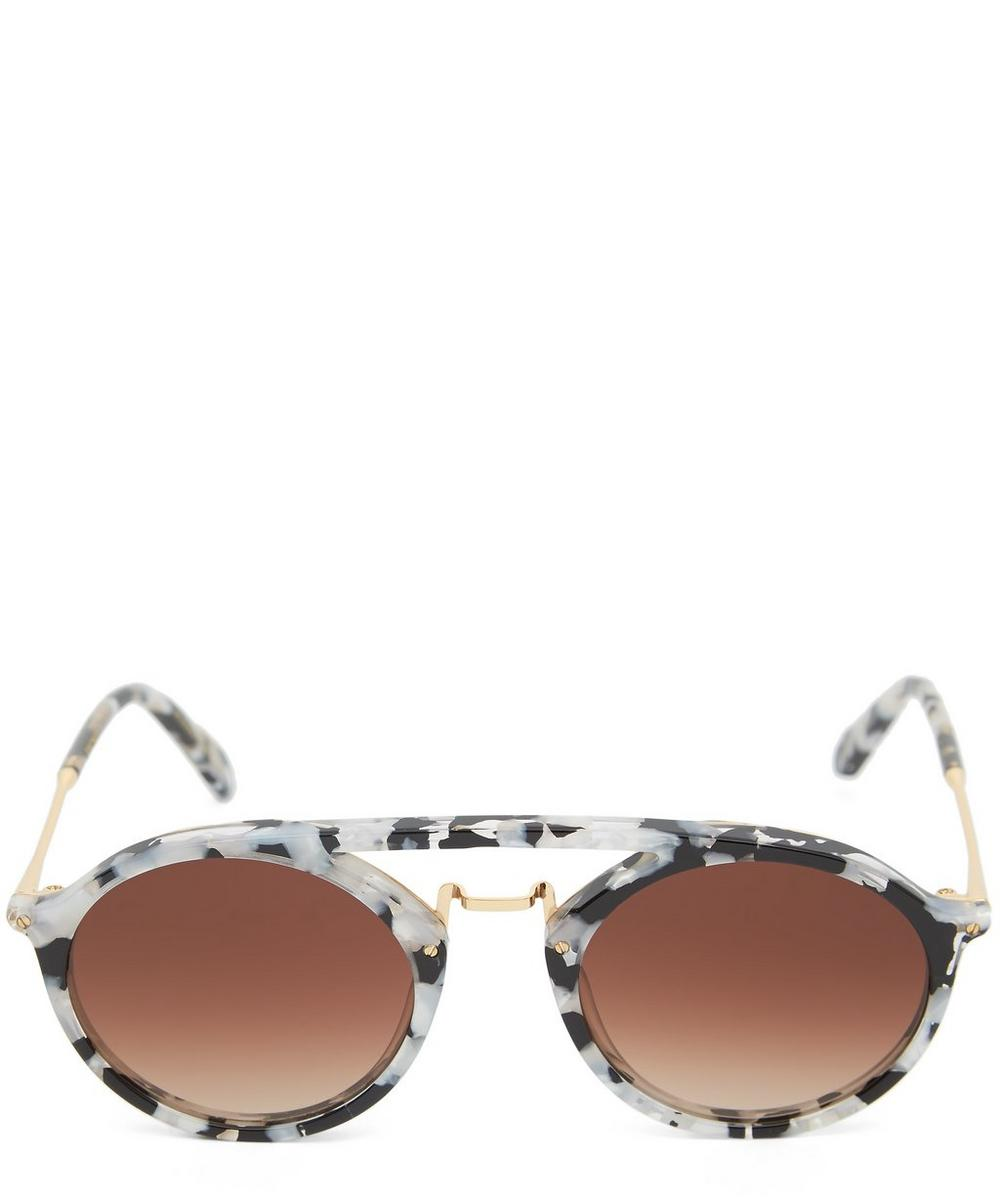 KREWE Gold-Plated Marigny Interstellar Sunglasses