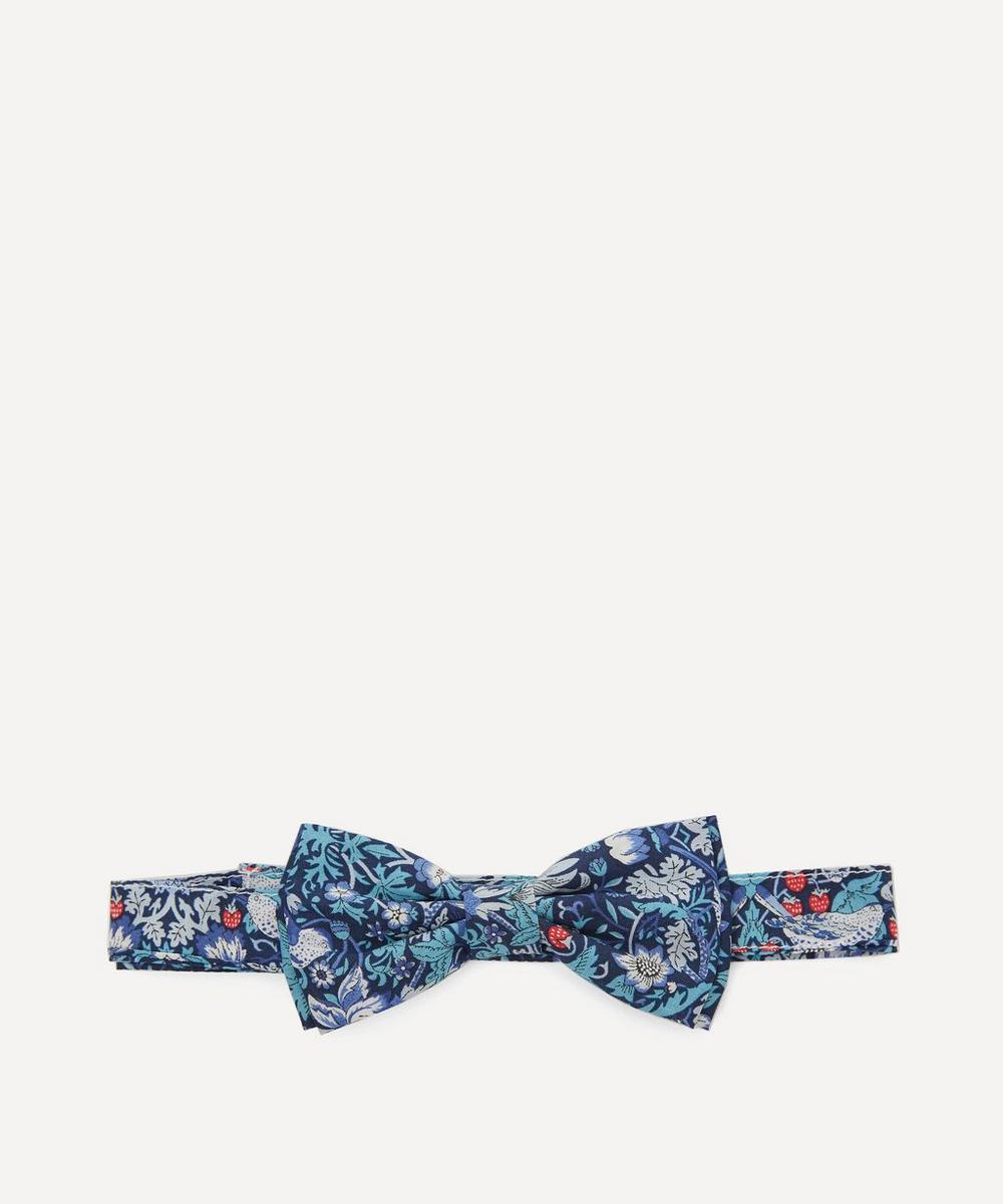 Strawberry Thief Bow Tie
