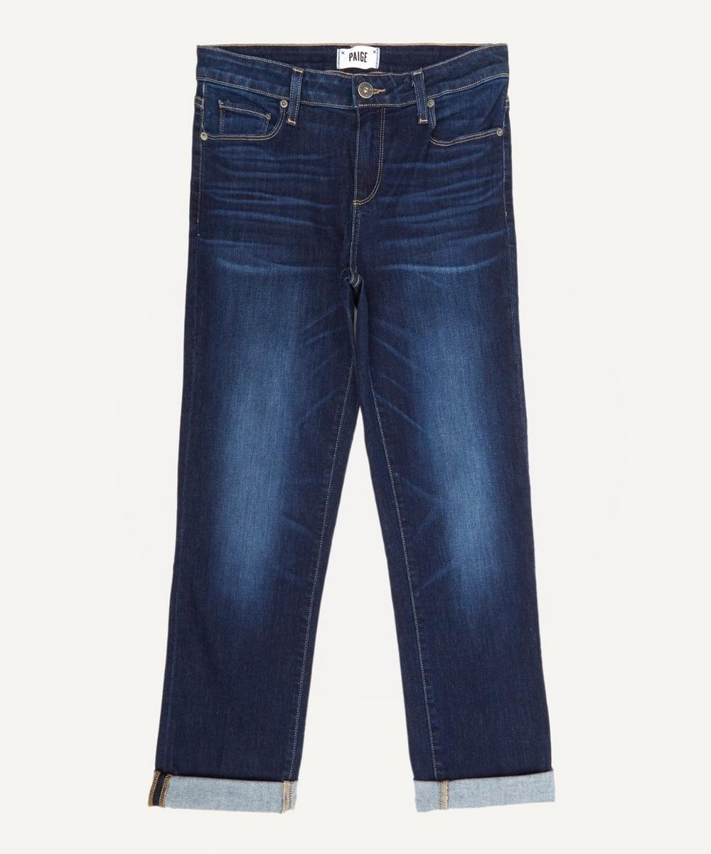 Paige - Brigitte Crop Mid Rise Skinny Boyfriend Jeans