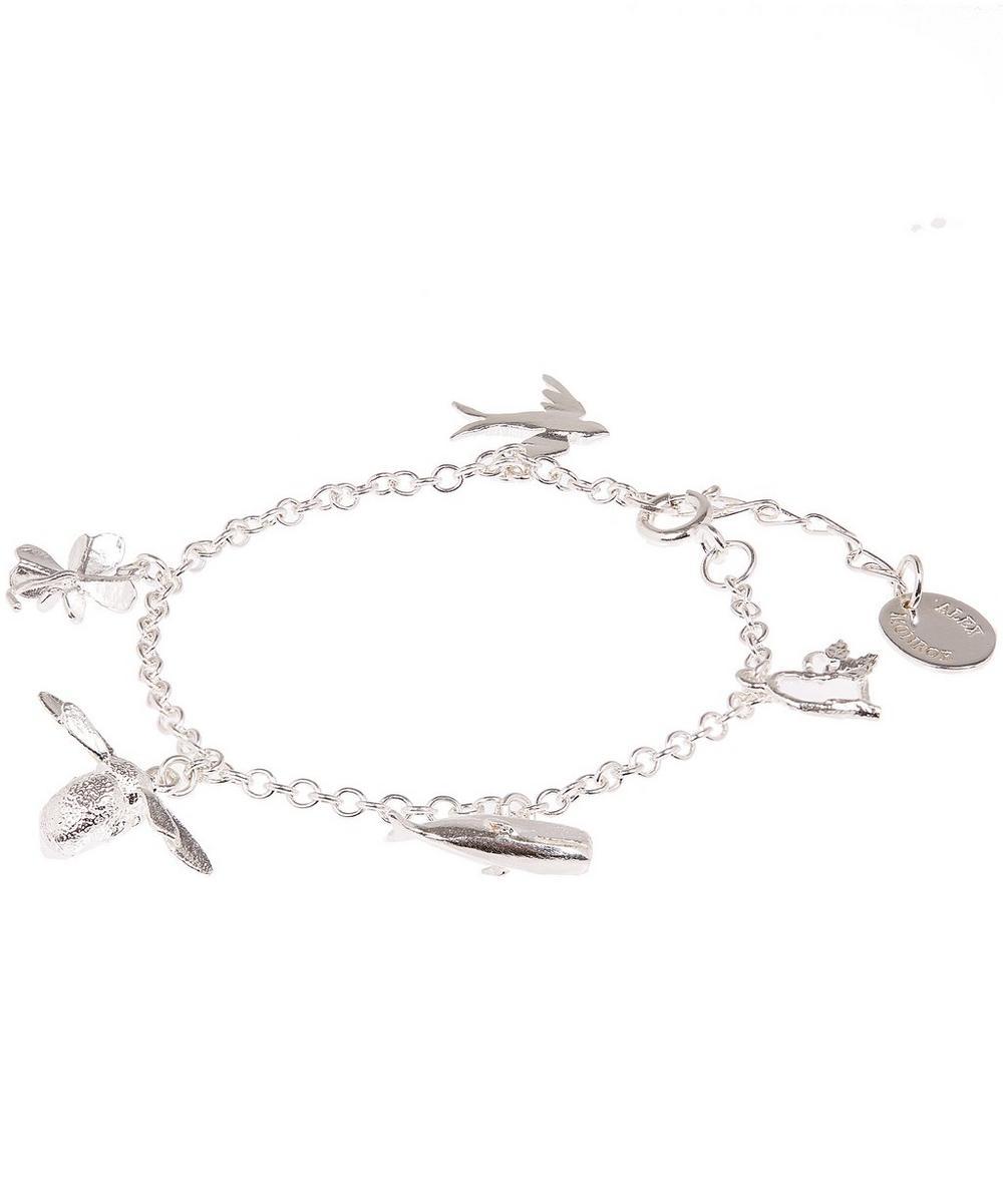 Sterling Silver Children's Charm Bracelet