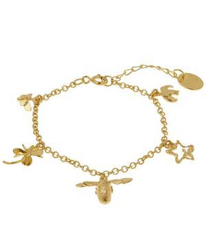 Gold-Plated Children's Charm Bracelet