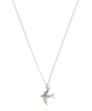 Sterling Silver Swallow Children's Necklace