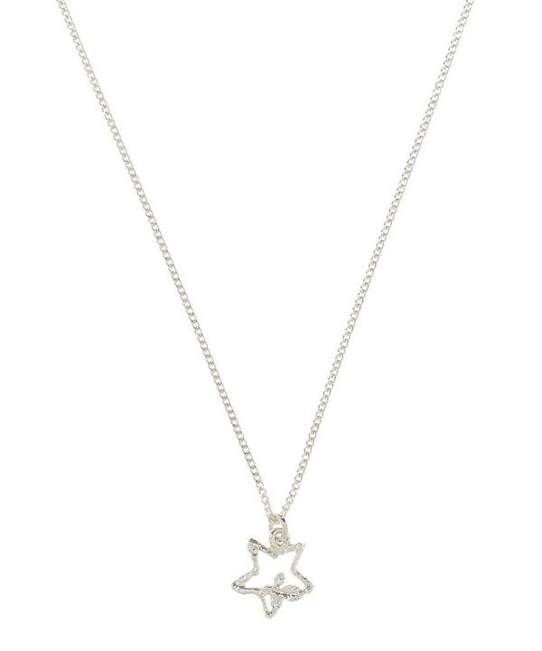 Sterling Silver Wishing Star Children's Necklace