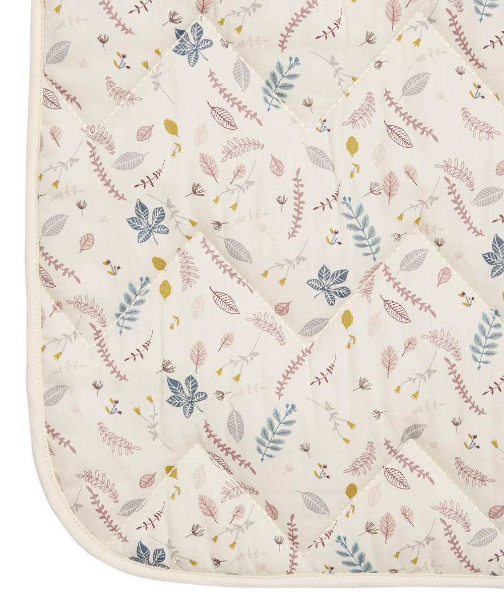 Pressed Leaves Baby Mat