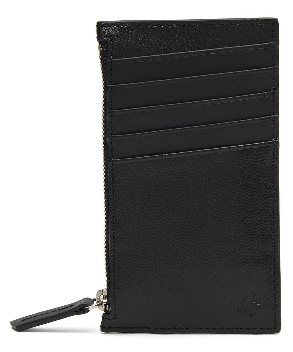 Adana Zipped Leather Cardholder
