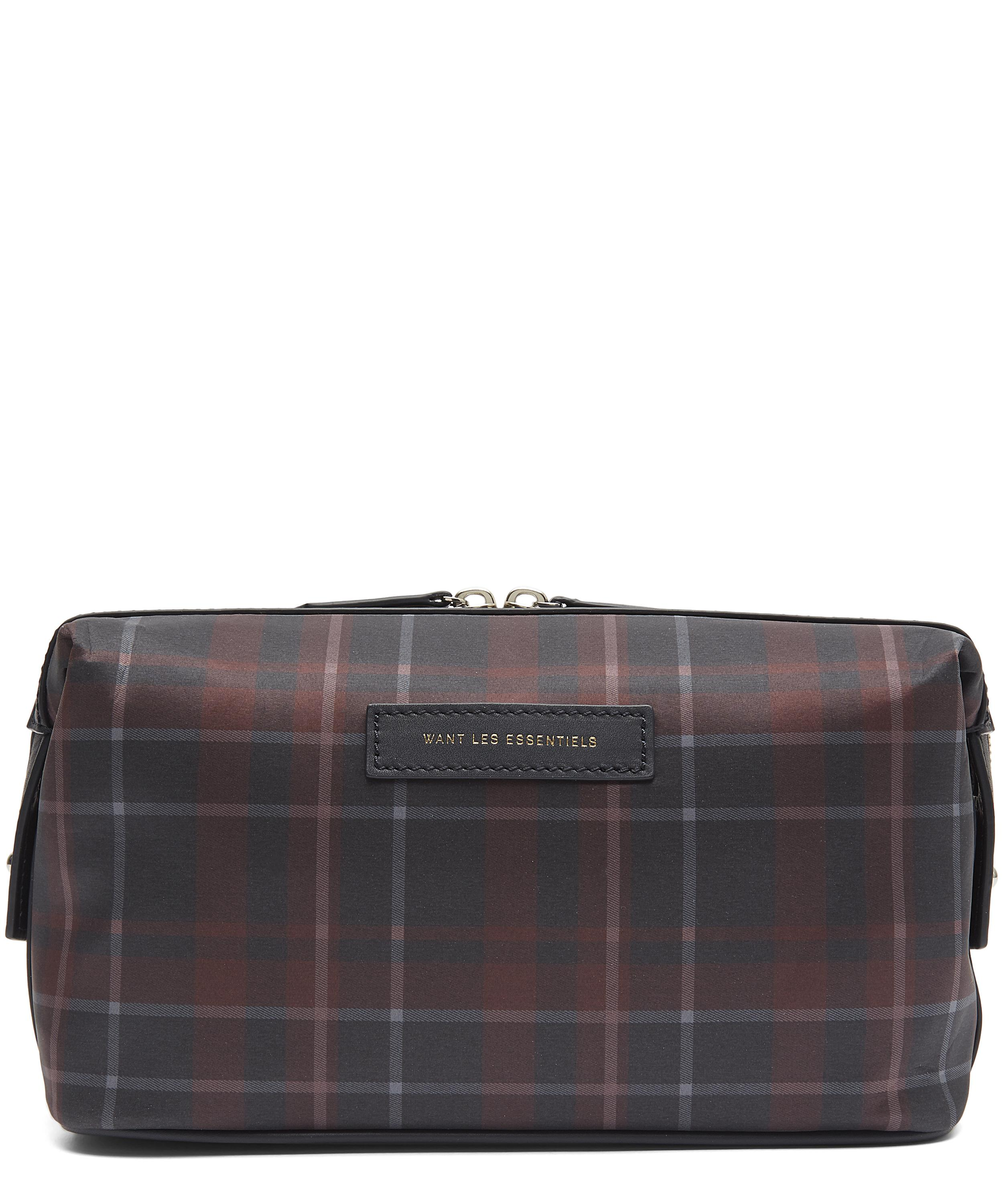 a5cca226edc Tartan Dopp Kit Wash Bag   Liberty London