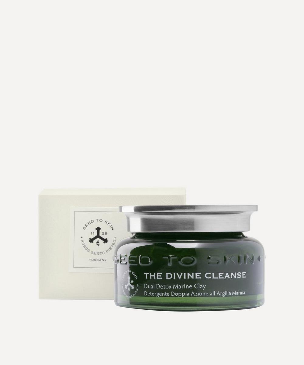The Divine Cleanse Dual Detox Marine Clay Cleansing Gel 100ml