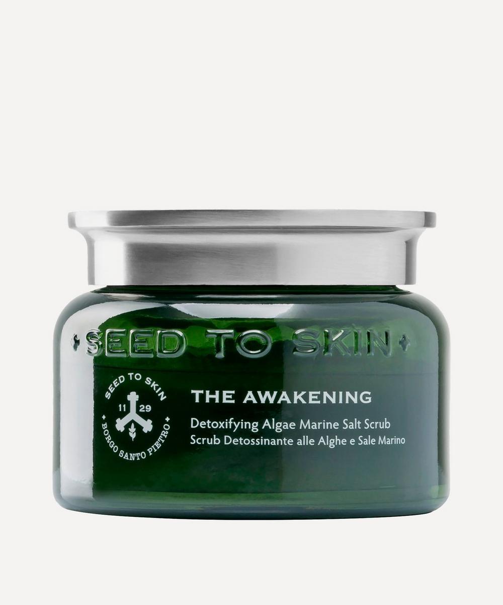 SEED TO SKIN - The Awakening Detoxifying Algae Marine Salt Scrub 300ml