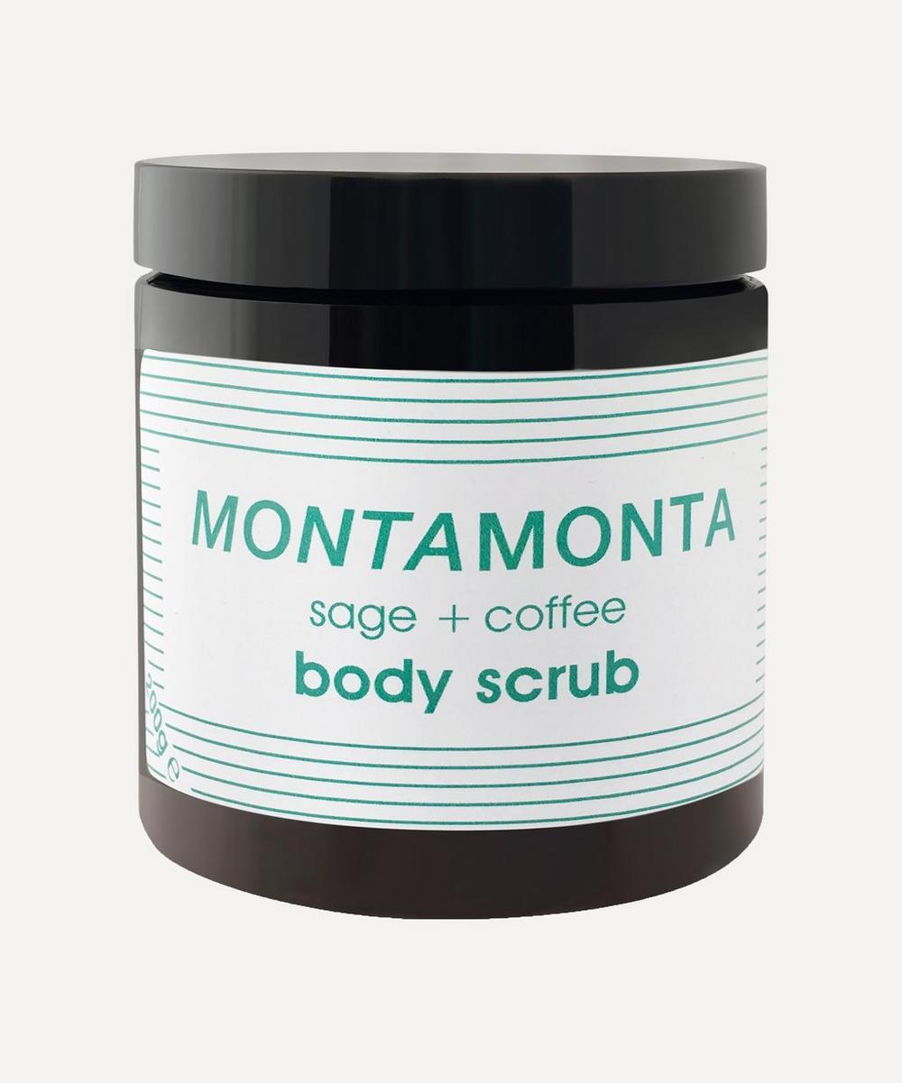 MONTAMONTA - Sage and Coffee Body Scrub 200g