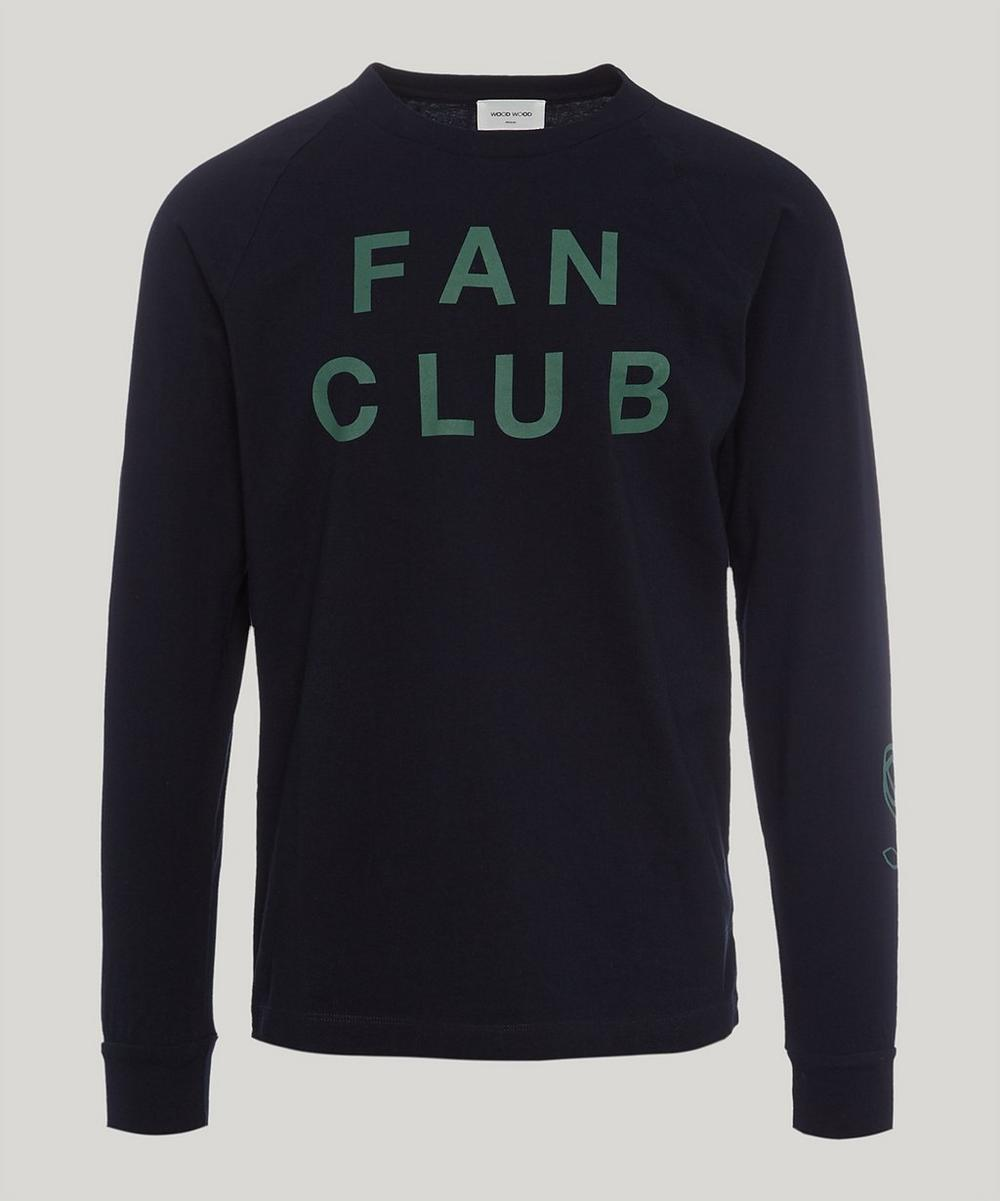 Wood Wood FAN CLUB LONG-SLEEVE T-SHIRT