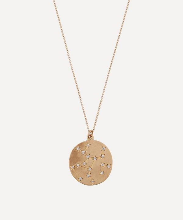 Brooke Gregson - 14ct Gold Sagittarius Astrology Diamond Necklace