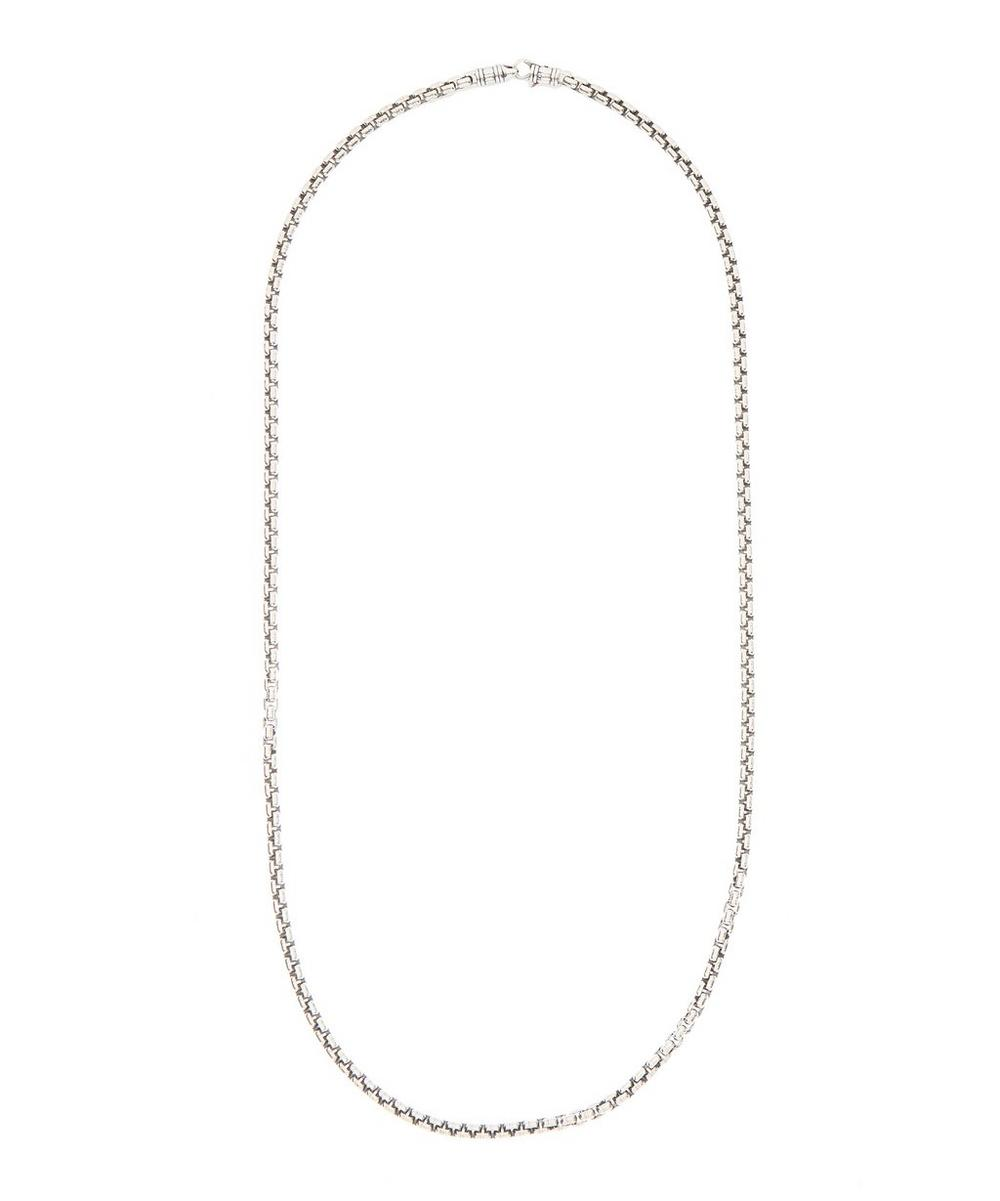 Tom Wood Accessories STERLING SILVER VENETIAN SINGLE CHAIN NECKLACE