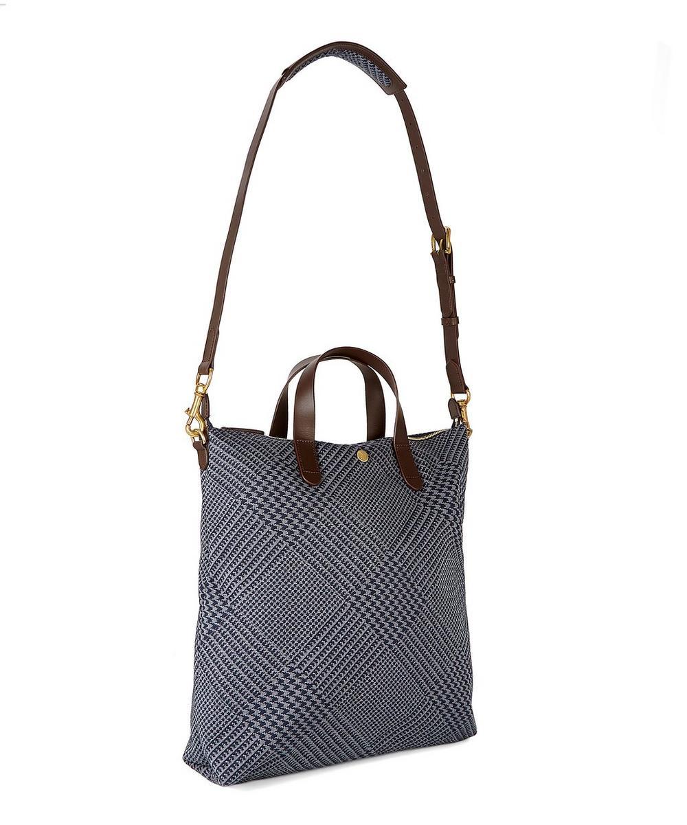 130a2b786236 M S Shopper Jacquard Leather Tote Bag