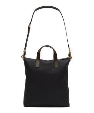 Canvas Leather Shopper Tote Bag